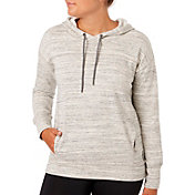Reebok Women's Melange Brushed Fleece Hoodie