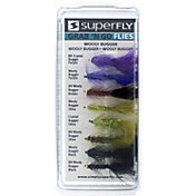 Superfly Grab 'N Go Wooly Bugger Fly Fishing Assortment Pack