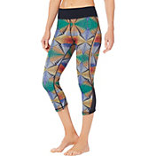 Shape Active Women's Mesh Inset Capris Leggings