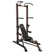 Steelbody Half Rack with Foldable Bench