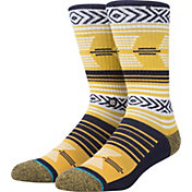 Stance Michigan Wolverines Mazed Socks
