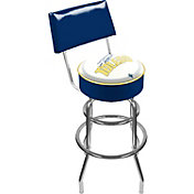 Trademark Games Toledo Rockets Padded Swivel Bar Stool with Back