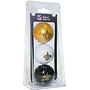 Team Golf New Orleans Saints Golf Balls – 3 Pack
