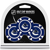 Team Golf Vancouver Canucks Poker Chips Ball Markers - 3-Pack