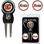 Team Golf Calgary Flames Divot Tool and Marker Set