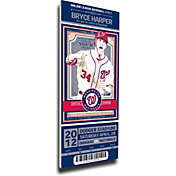 That's My Ticket Washington Nationals Bryce Harper Debut Game Mega Ticket