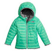 The North Face Toddler Girls' Reversible Mossbud Swirl Fleece Jacket