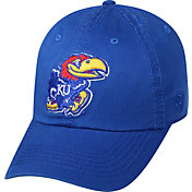 Top of the World Men's Kansas Jayhawks Blue Crew Adjustable Hat