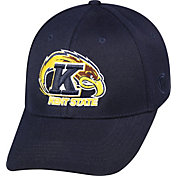 Top of the World Men's Kent State Golden Flashes Navy Blue Premium Collection M-Fit Hat