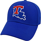 Top of the World Men's Louisiana Tech Bulldogs Blue Premium Collection M-Fit Hat