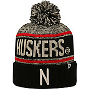 Top of the World Men's Nebraska Cornhuskers Black/White/Scarlet Acid Rain Knit Beanie