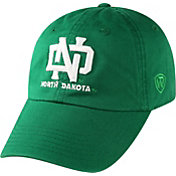 Top of the World Men's North Dakota Fighting Hawks Green Crew Adjustable Hat