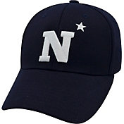 Top of the World Men's Navy Midshipmen Navy Premium Collection M-Fit Hat