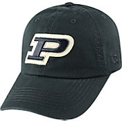Top of the World Men's Purdue Boilermakers Black Crew Adjustable Hat