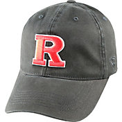 Top of the World Men's Rutgers Scarlet Knights Black Crew Adjustable Hat