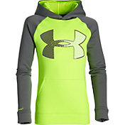 Under Armour Boys' Storm Armour Fleece Jumbo Logo Hoodie