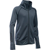 Under Armour Girls' Rival Warm Up Full Zip Jacket