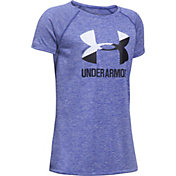 Under Armour Girls' Big Logo Novelty T-Shirt