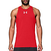 Under Armour Men's Baseline Charged Cotton Basketball Tank Top