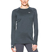 Under Armour Women's Base 3.0 Crew Long Sleeve Shirt