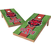 Wild Sports 2' x 4' Arkansas State Red Wolves XL Tailgate Bean Bag Toss Shields