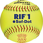 "Worth 11"" ASA Sof-Dot RIF Safety Fastpitch Softball"