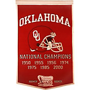 Oklahoma Sooners Football National Champions Banner