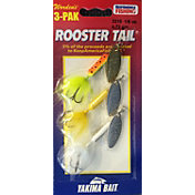 Yakima Bait Rooster Tail Inline Spinner - 3 Pack