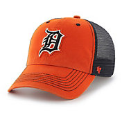 '47 Men's Detroit Tigers Taylor Closer Orange Fitted Hat