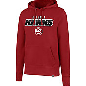 '47 Men's Atlanta Hawks Red Pullover Hoodie