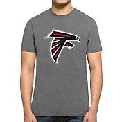 '47 Men's Atlanta Falcons Club Logo Grey T-Shirt