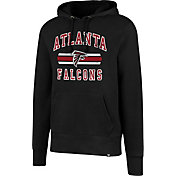 '47 Men's Atlanta Falcons Headline Black Pullover Hoodie