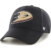 '47 Men's Anaheim Ducks MVP Black Structured Adjustable Hat