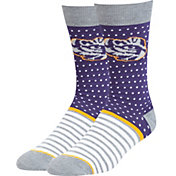 '47 LSU Tigers Willard Crew Socks