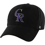 '47 Youth Colorado Rockies Basic Black Adjustable Hat
