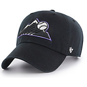 '47 Youth Colorado Rockies Clean Up Black Adjustable Hat
