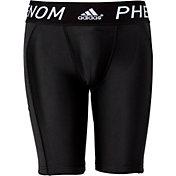 adidas Boys' Phenom Sliding Shorts w/ Cup