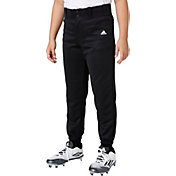 adidas Boys' Triple Stripe Traditional Baseball Pants