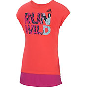adidas Girls' Neon Run Wild T-Shirt