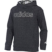 adidas Girls' Heather Sparkle Hoodie