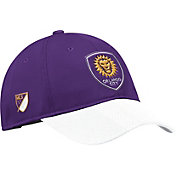 adidas Men's Orlando City Authentic Slouch Purple Adjustable Hat