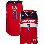 adidas Men's Washington Wizards Bradley Beal #3 Road Red Swingman Jersey