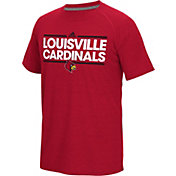 adidas Men's Louisville Cardinals Cardinal Red Dassler Performance T-Shirt