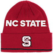 adidas Men's NC State Wolfpack Red Cuffed Knit Beanie