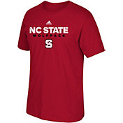 adidas Men's North Carolina State Wolfpack Red Cotton T-Shirt