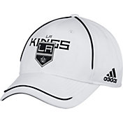 adidas Men's Los Angeles Kings White Structured Adjustable Hat