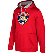 adidas Men's Florida Panthers Red Performance Pullover Hoodie