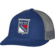 CCM Men's New York Rangers Trucker Navy Mesh Adjustable Hat