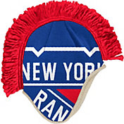 adidas Men's New York Rangers Mohawk Royal Knit Beanie