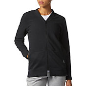 adidas Women's Cover Up Full Zip Sweatshirt